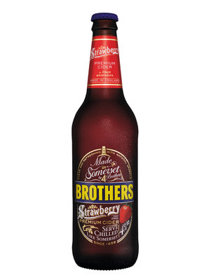 Brother's Strawberry Cider