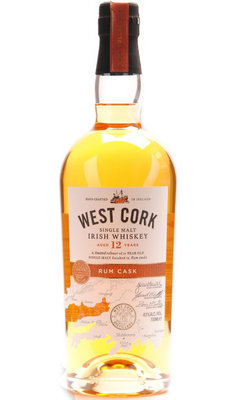 West Cork 12 Year Old Rum Cask